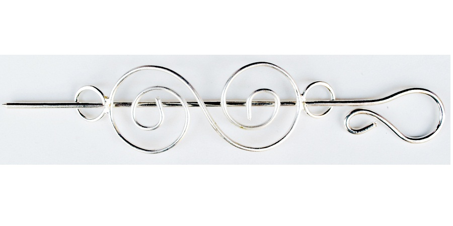 Metal Shawl Pins